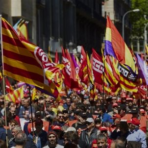 1 maig manifestació
