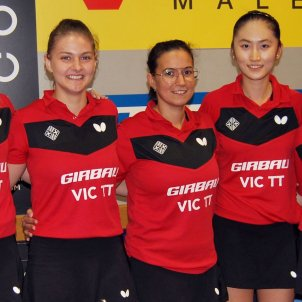 Girbau Vic Superdivisió tennis taula Foto Vic TT