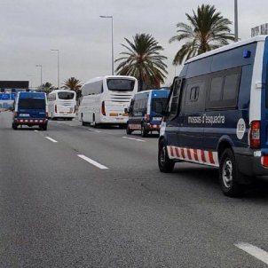 mossos autocar madrid