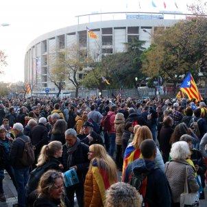 concentrats Tsunami Democratic Camp Nou ACN