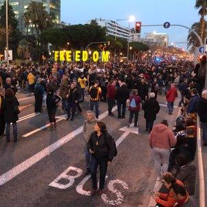 tall digonal Tsunami democràtic Clàssic - Carlota Camps