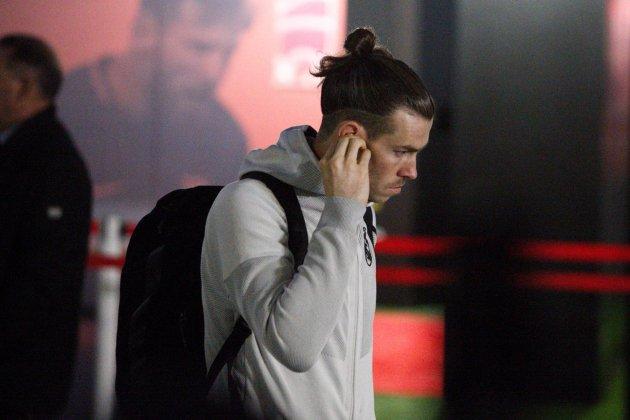 Terminó el partido y Zidane entró furioso al vestuario