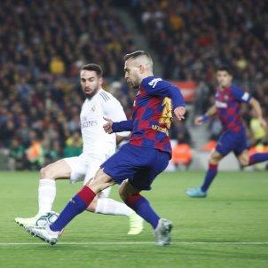 Jordi Alba Carvajal Barca Reial Madrid Classic Mireia Comas
