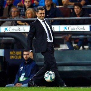 Ernesto Valverde Barca Reial Madrid Classic EFE