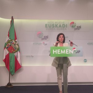 La eurodiputada PNB Izaskun Bilbao - EUROPA PRESS