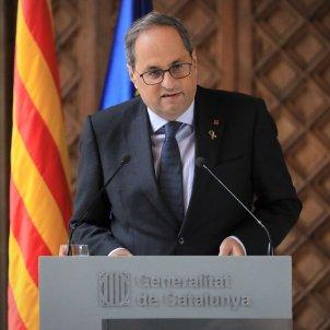 Declaracio institucional Torra inhabilitació - Jordi Bedmar