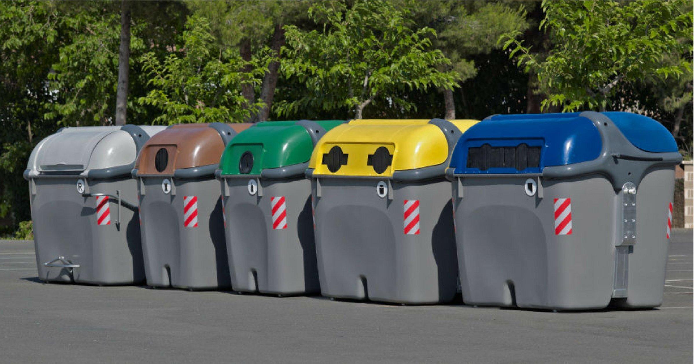Reciclem i separem bé: Què va a cada contenidor?