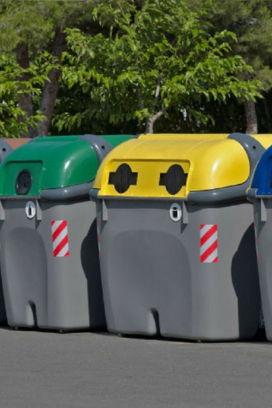 contenidors reciclatge