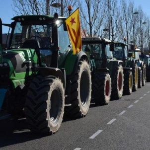 tractorades unio de pagesos presos politics - @uniopagesos