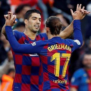 Luis Suárez Griezmann Barça EFE