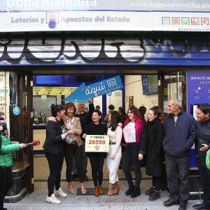 loteria nadal administracio gordo Madrid - Efe