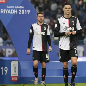 Cristiano Ronaldo Juventus enfadat EFE