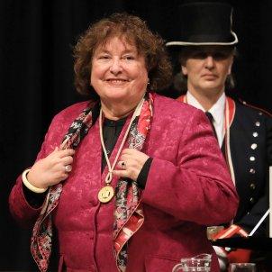 Quim Torra Ana Maria Cabre medalla or Generalitat - ACN