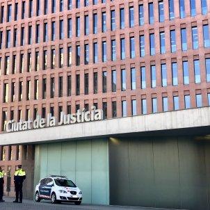 Europa Press Mossos dEsquadra ciutat de la justicia