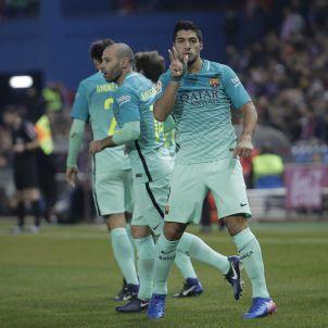 Luis Suarez gol Atetico de Madrid Barça EFE