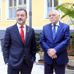 Conseller alfred Bosch expresident croacia Stjepan Mesic - ACN