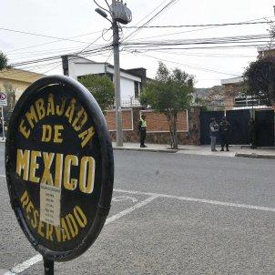 ambaixada mexic bolivia - efe