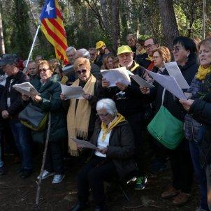 Músics per la Independència d'Igualada bosc Catllar - acn