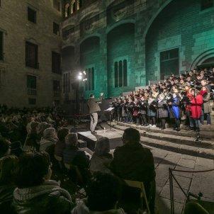 concert plaça del rei Orfeó Català