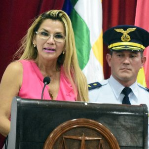 Jeanine Añez Europa Press