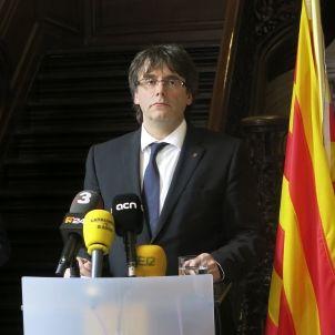 Puigdemont i president Flandes
