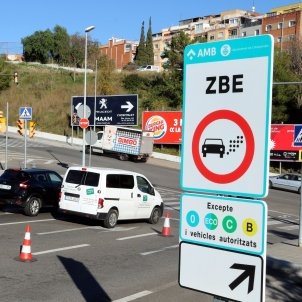 Zona Baixes Emissions Barcelona - ACN