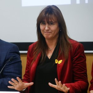 Laura Borràs valora acord ERC EFE
