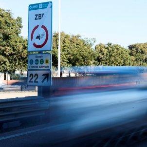zona baixes emissions Barcelona contaminació EFE (1)