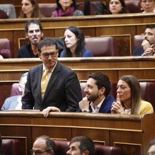 EuropaPress 2152295 Jaume Alonso Cuevillas (JxCat) interviene durante la sesión constitutiva de la Cámara baja