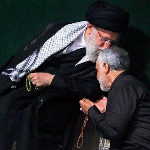Jamenei Soleimani EFE