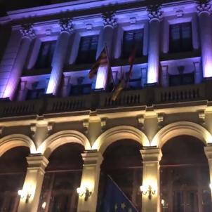 paeria bandera espanyola ajuntament lleida