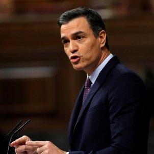 Pedro Sánchez debat d'investidura Congrés EFE