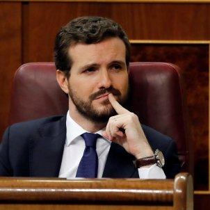 Pablo Casado debat investidura EFE