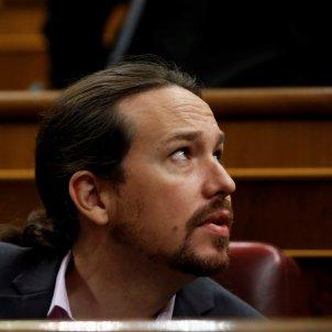 Pablo Iglesias debat investidura EFE