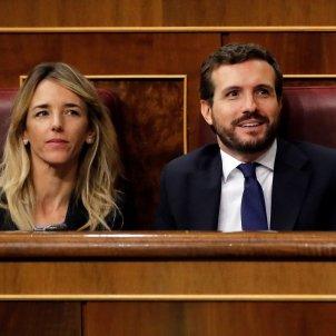 Cayetana Álvarez Toledo Pablo Casado debat investidura EFE
