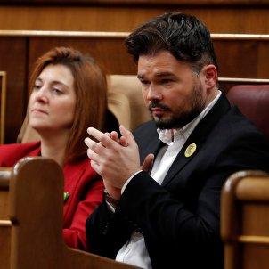 Rufián Telechea debat investidura EFE