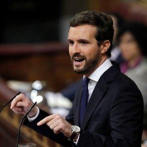 Pablo Casado intervé debat investidura EFE