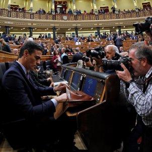 Pedro Sánchez debat d'investidura Congrés dels  Diputats
