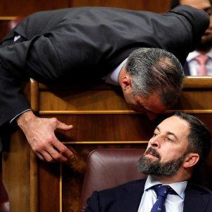 Abascal Ortega Vox debat investidura 04 01 2019 EFE