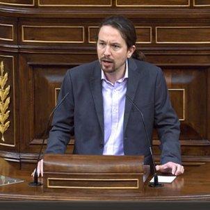 Pablo Iglesias debat investidura