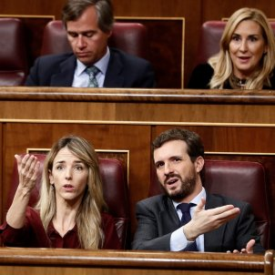 Cayetana Alvarez Toledo Pablo casado debate investidura EFE