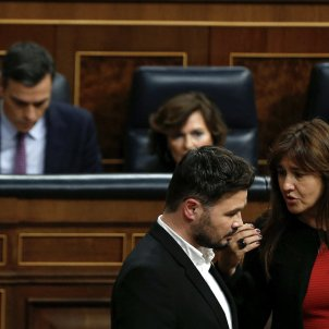 Sánchez, Rufián, Borràs debat investidura EFE