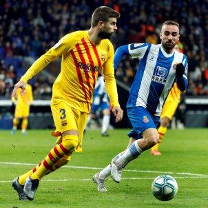Gerard Pique Darder Espanyol Barca EFE