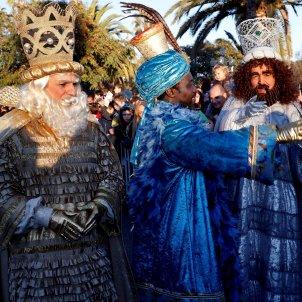 Reis d'Orient arriben port Baercelona - EFE