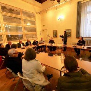 Alcaldes Catalunya Nord suport Torra   twitter @Pujol2020