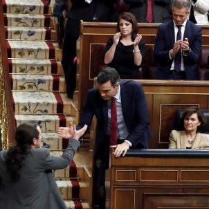 Sánchez Iglesias debat investidura EFE