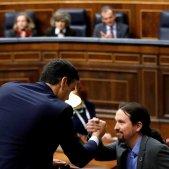 Sanchez Iglesias debat investidura EFE