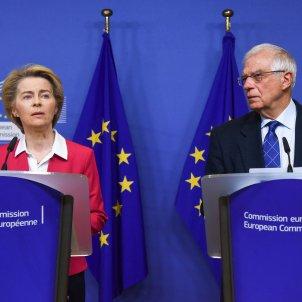 Borrell i Ursula von der Leyen   ACN