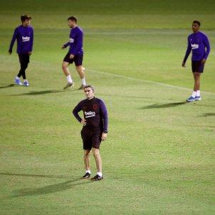 Ernesto Valverde entrenament arabia saudita Barca efe
