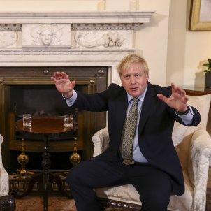 Von der Leyen , Boris Johnson - EFE